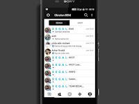 Download BBM MOD I-Chat Beta v300.3.1.38 Apk Connected