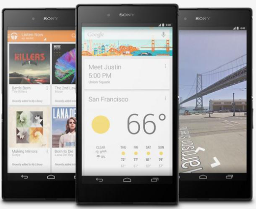 Sony XPeria Z Ultra Edisi Google Play