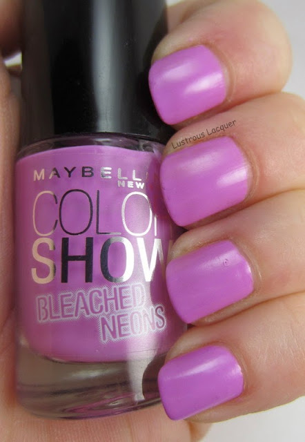 Maybelline Ultra Violet Bleached Neons Collection