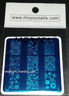 Review-MoYou-Nails-420-Flower-Design-Stamping-Plate