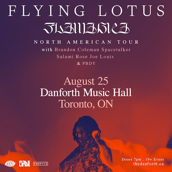 Flying Lotus @ Danforth Music Hall, Sunday