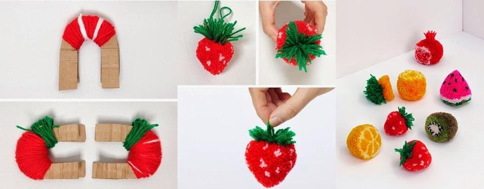 como decorar com pompons