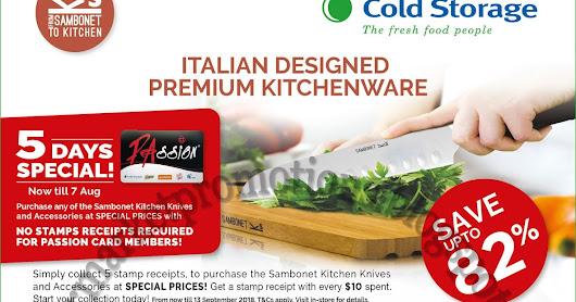Cold Storage Redeem Sambonet Kitchen Knives 03 - 07 August 2018  sc 1 st  Google Plus & Cold Storage Redeem Sambonet Kitchen Knives 03 - 07 August 2018 Cold ...