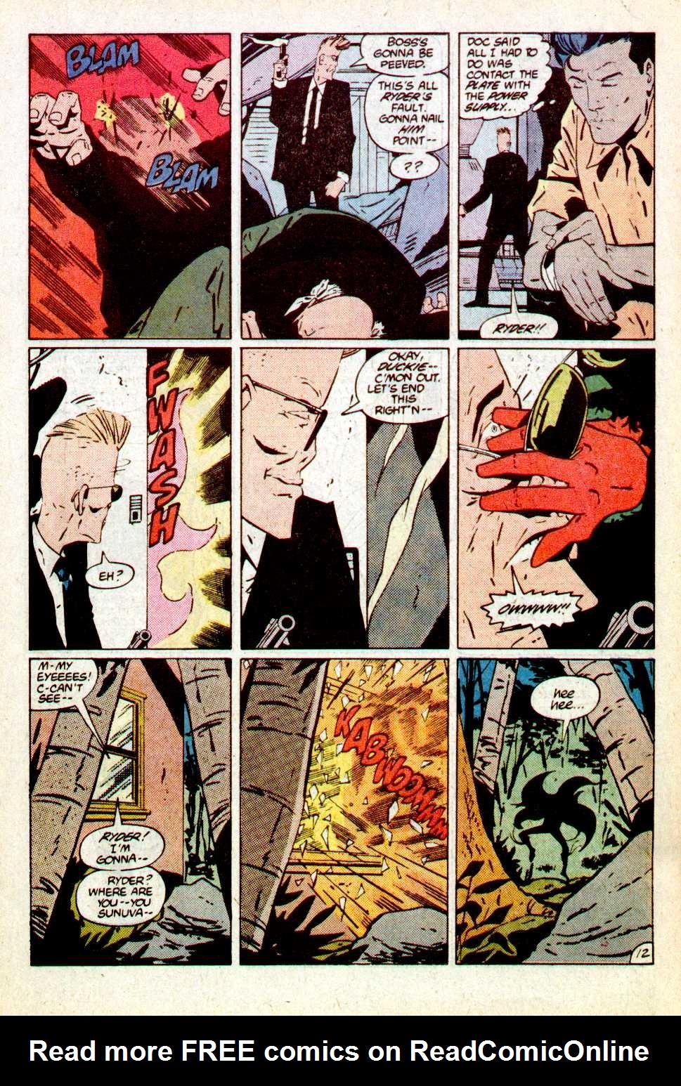 Read online Secret Origins (1986) comic -  Issue #18 - 13