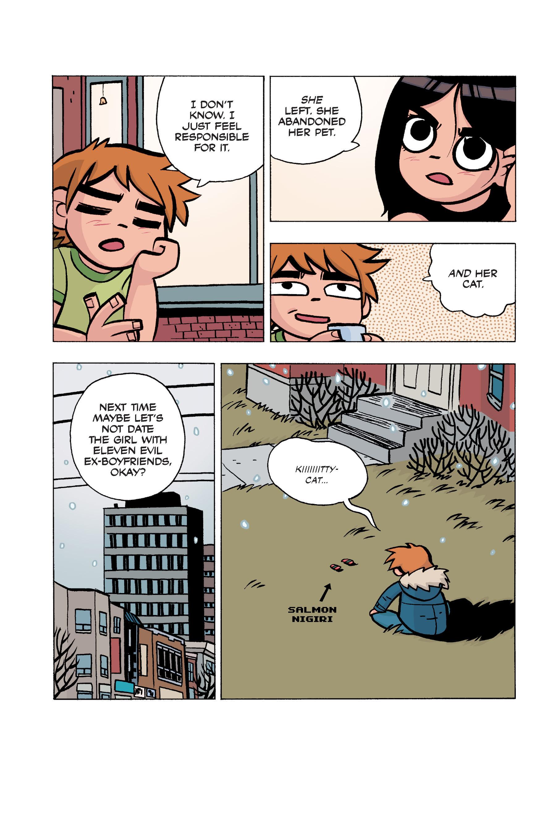 Read online Scott Pilgrim comic -  Issue #5 - 155