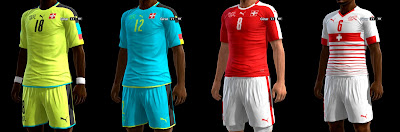 PES 2013 Switzerland GDB Euro 2016 by ABIEL