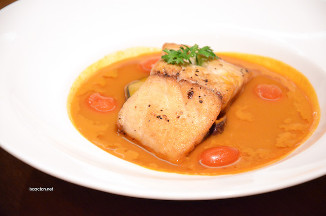 Flaming Red Fish Curry - RM42