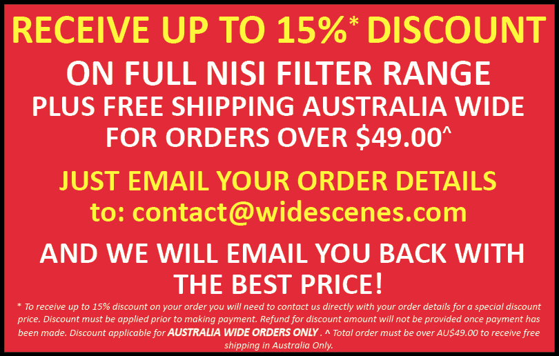 NiSi Filters Discount