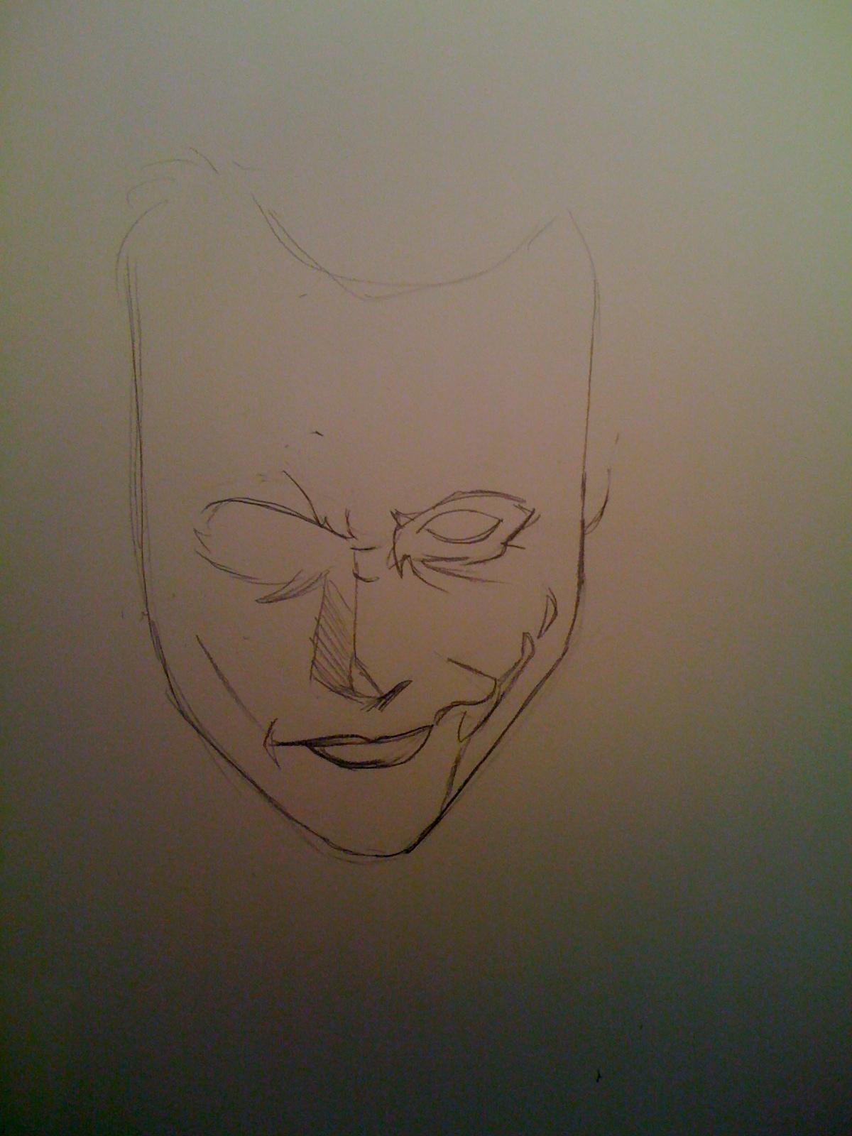 Joker En Etapes Dessins De Lena