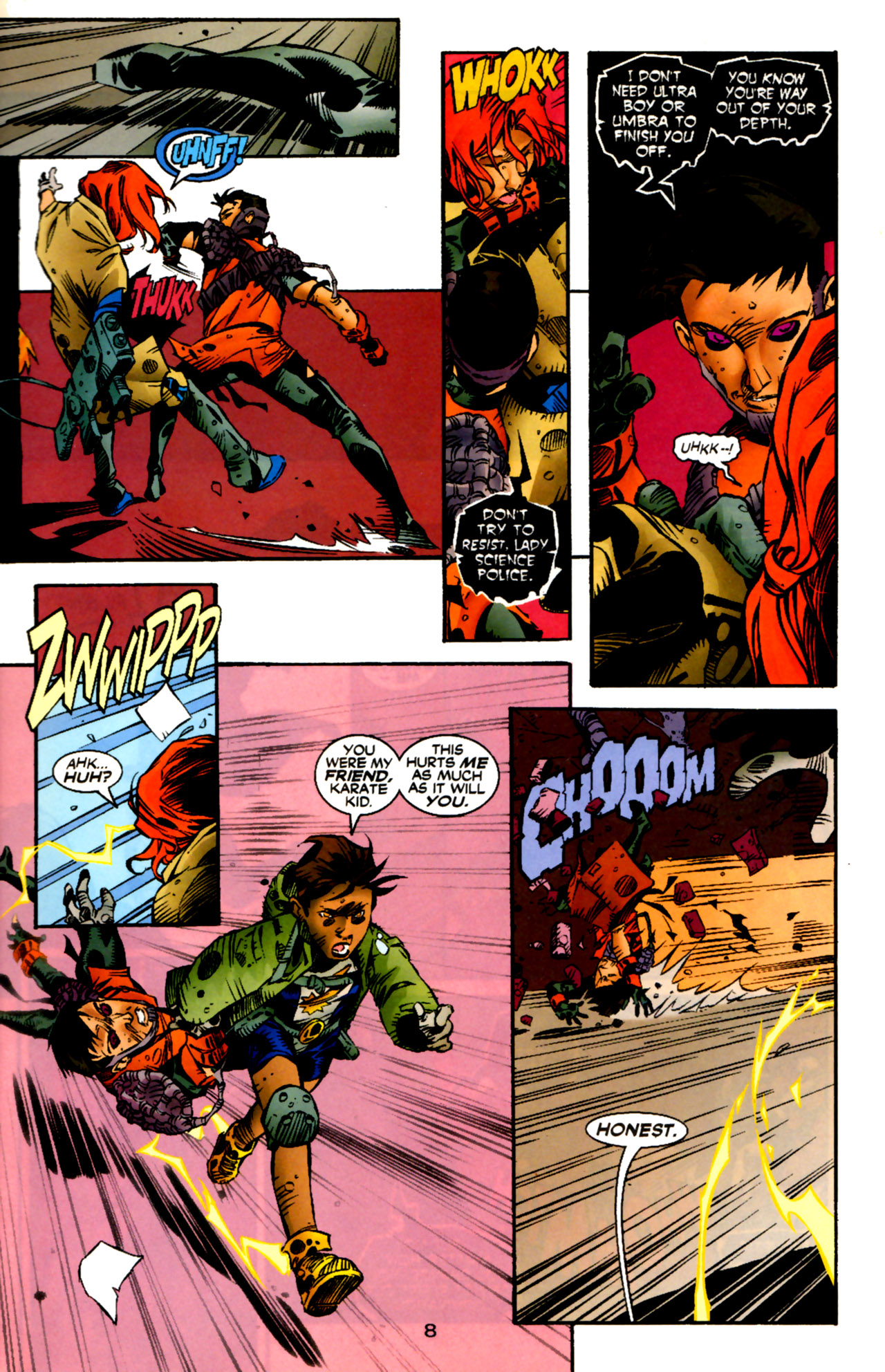 Legion of Super-Heroes (1989) 122 Page 7