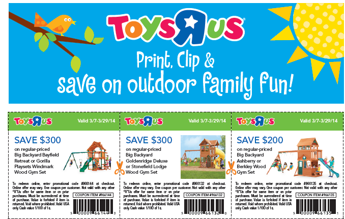 photo regarding Printable Toysrus Coupons identify Toys r us coupon september 2018 : Ninja cafe nyc discount codes