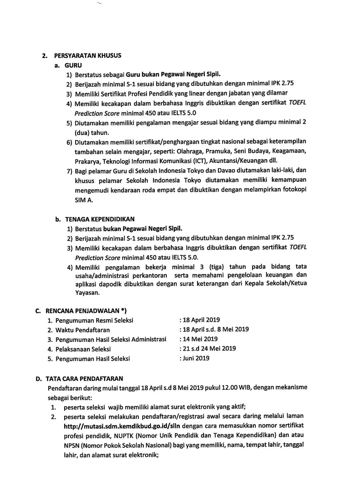 Lowongan Kerja Guru Dan Tenaga Kependidikan Kementerian Pendidikan Dan Kebudayaan Rekrutmen Lowongan Kerja Bulan Februari 2021