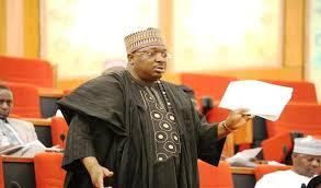 NIGERIA'S SENATE MINORITY WHIP.