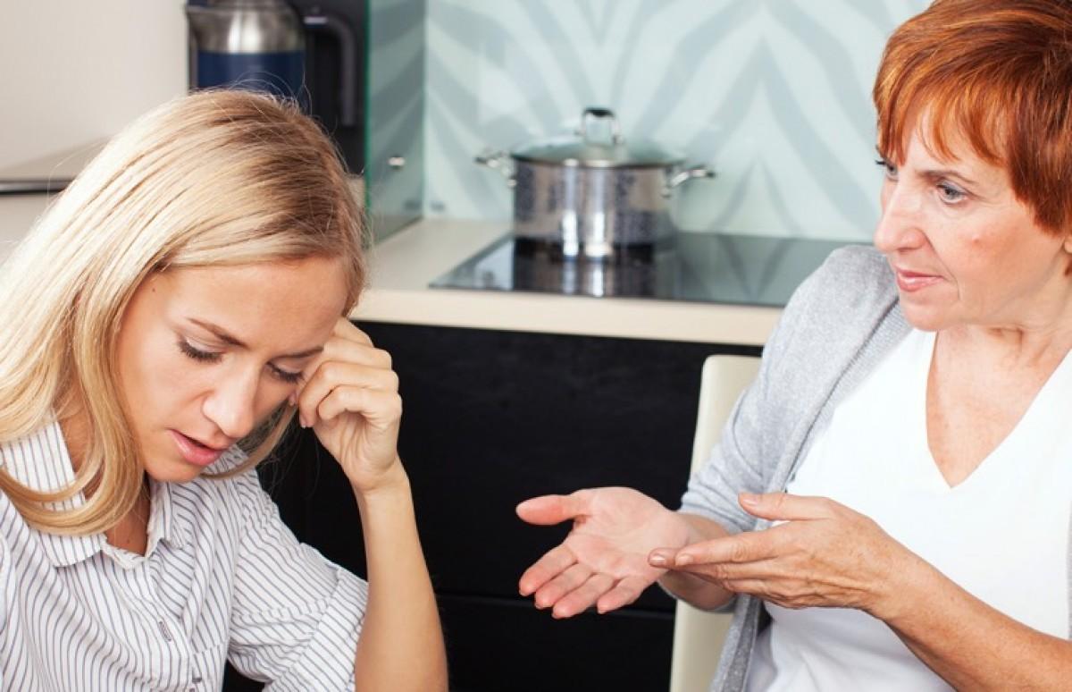 Schwiegermutter konflikt