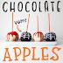 Creative Makes - Spooky Chocolate Apples - Halloween 2017