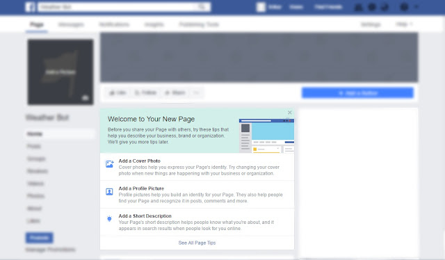 Page Tips - Facebook