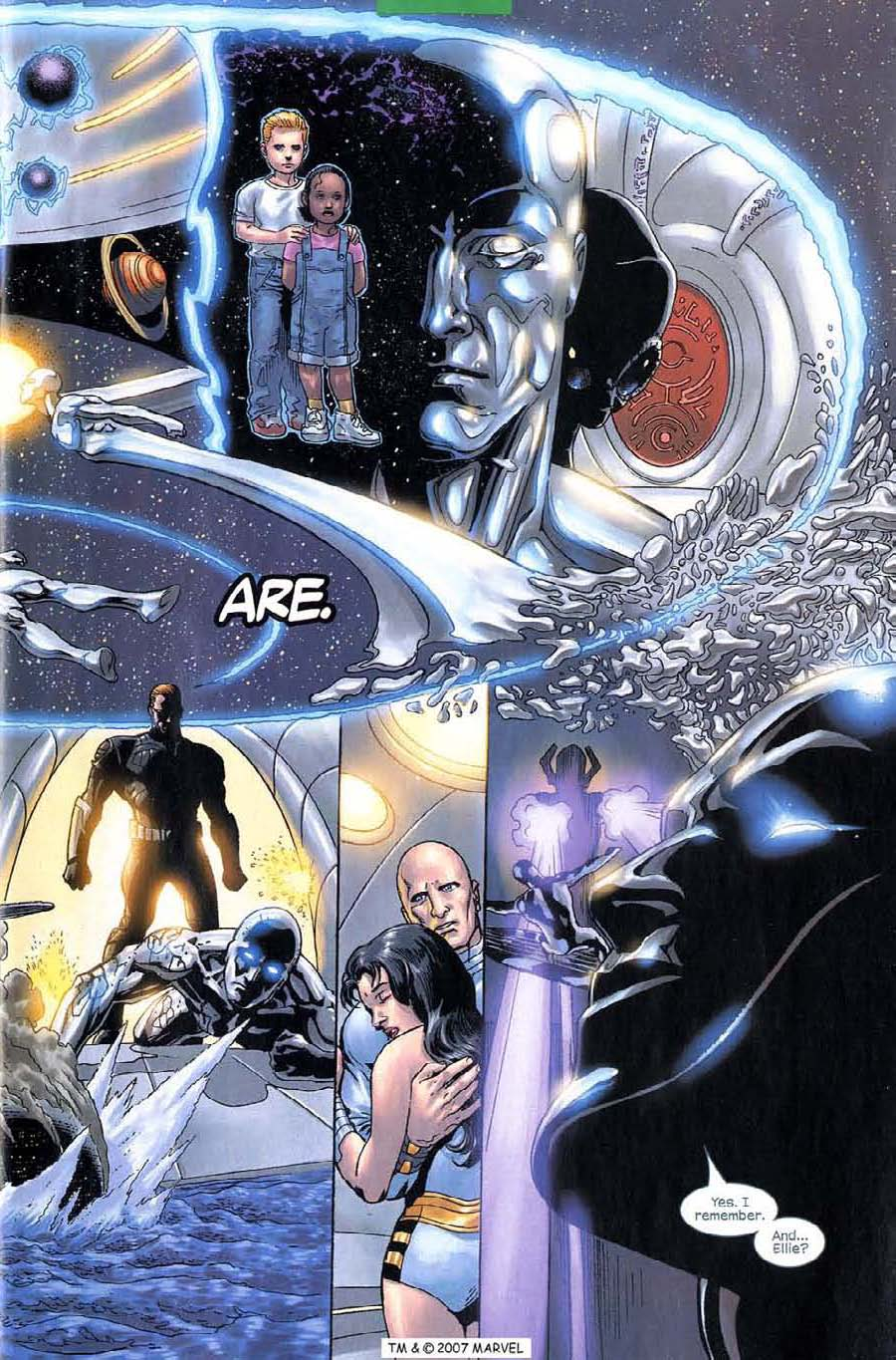 Read online Silver Surfer (2003) comic -  Issue #6 - 7
