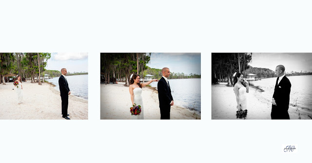Wedding Photography at Paradise Cove Orlando, fl Sasha and Mike