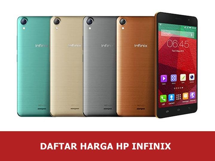 Daftar Harga Hp Infinix Android