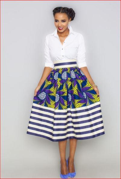 South African Ankara dress fashion