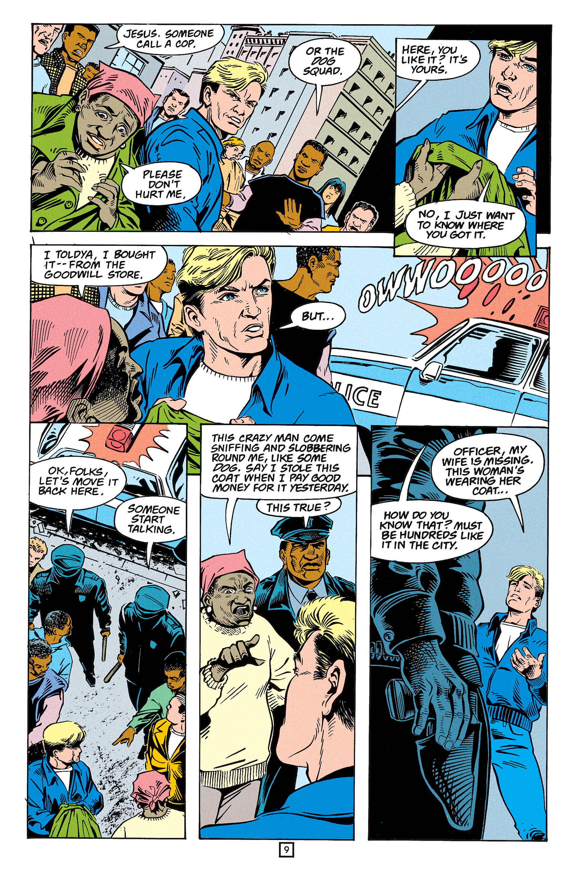 Read online Animal Man (1988) comic -  Issue #59 - 10