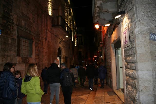 Ruvo di Puglia, borgo antico, turisti, gente, negozi, abitazioni, Sagra Fungo Cardoncello