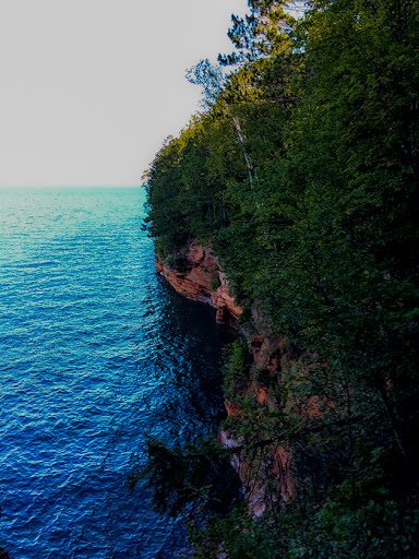 The Lakeshore Trail at the Apostle Islands National Lakeshore