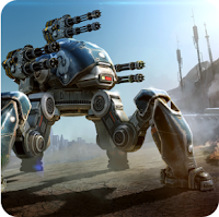 Screenshoot Game War Robots Mod Apk Data Terbaru: