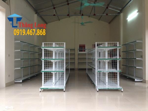 Kệ để hàng tạp hóa giá rẻ tại Bắc Giang