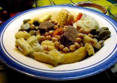 Foto del Sancochado en un plato