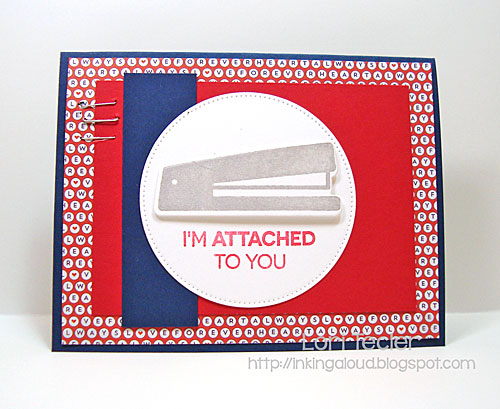 I'm Attached to You card-designed by Lori Tecler/Inking Aloud-stamps and dies from My Favorite Things