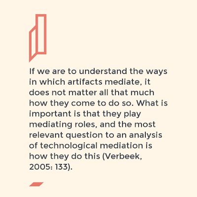 quotation on technological mediation