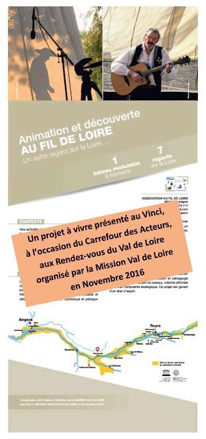 Aperçu du kakemono créé avec la Mission Val de Loire