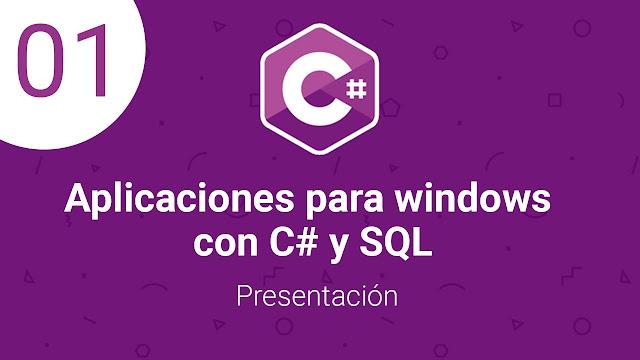 Curso MEGA Crea aplicaciones con C# y SQL para windows (Formando Código)
