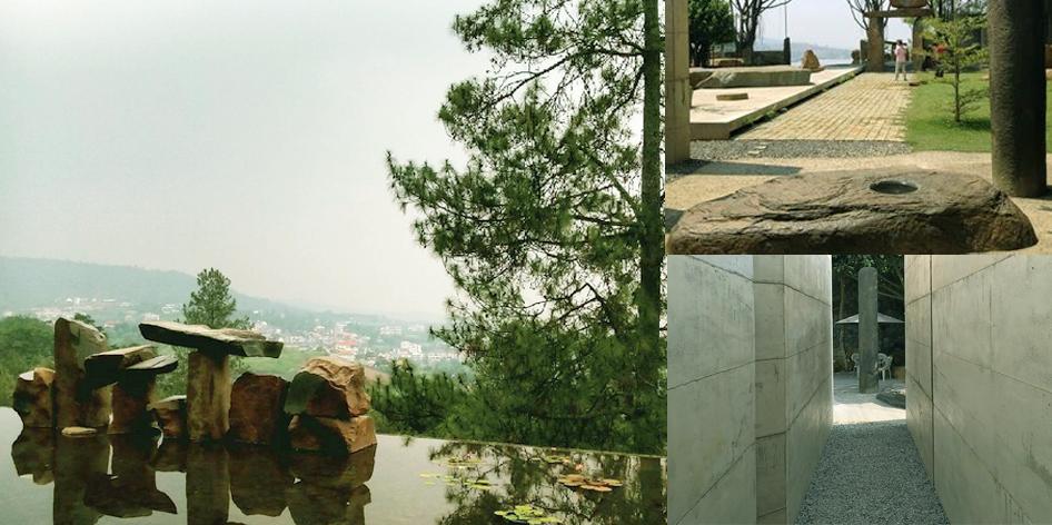 Wot Batu Selasar Sunaryo Ciburial Bandung