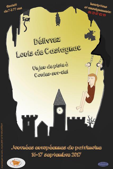 Le CAPA au Journées européennes du patrimoine à Cordes-sur ciel