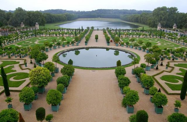 Gardens Versailles France UNESCO world heritage site