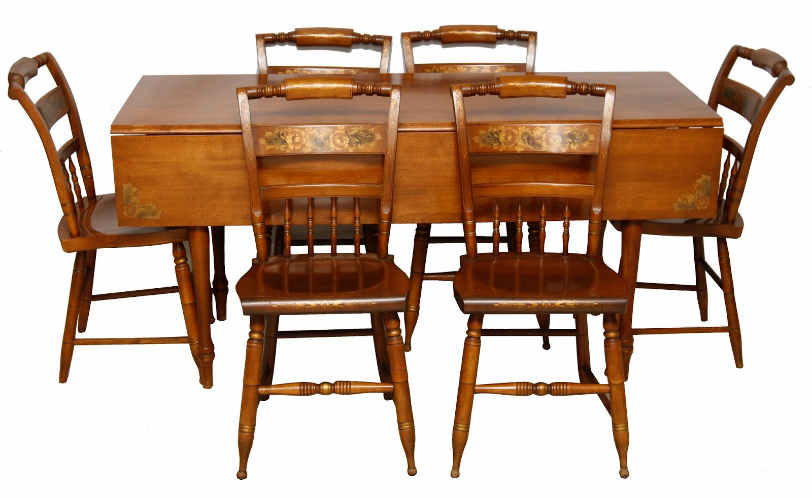 Hitchcock Desk And Chair Buy Covers Ireland 1950 Dining Table Six Chairs Grandma 39s