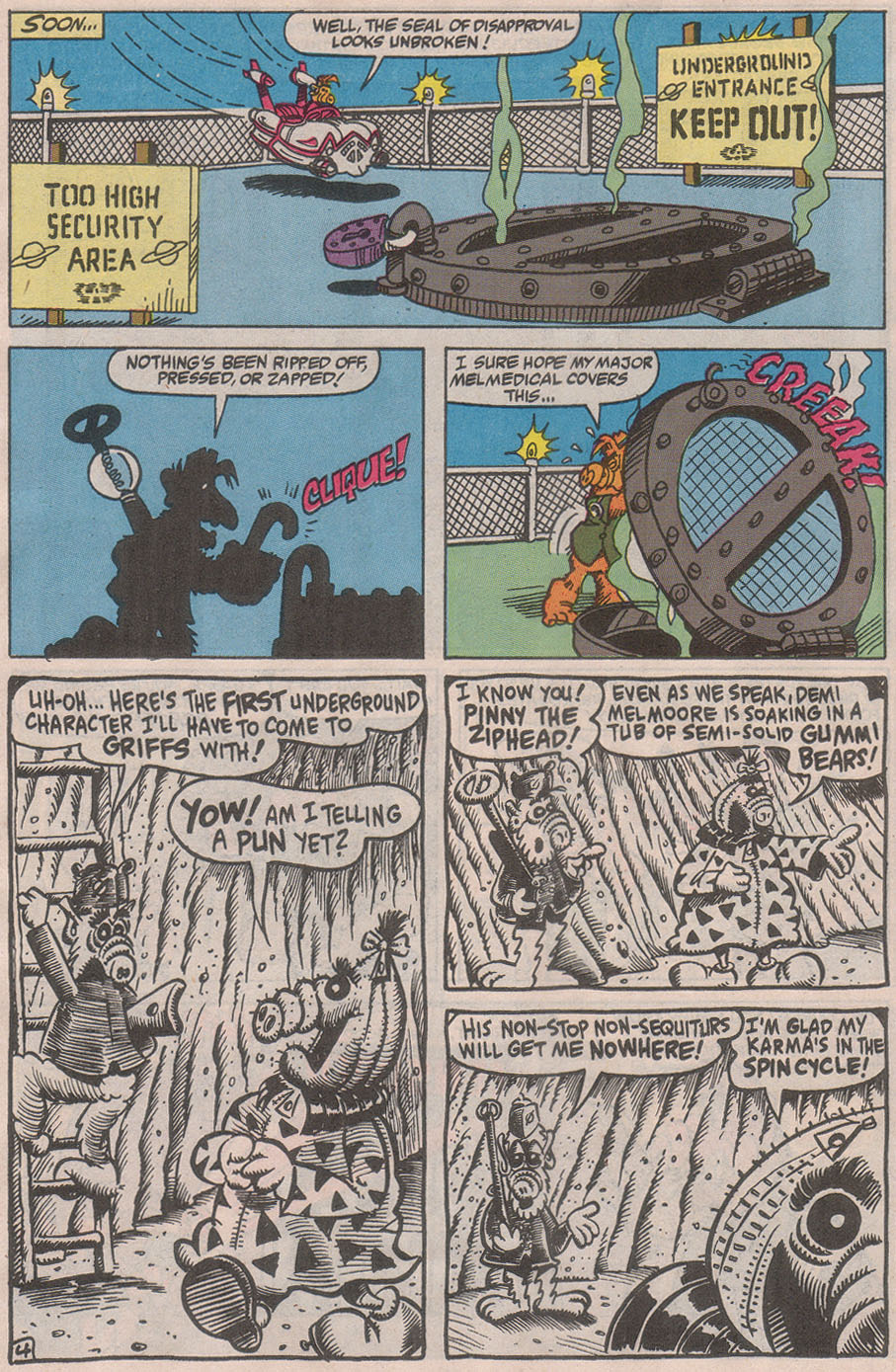 Read online ALF comic -  Issue #36 - 25