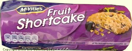Diets And Calories Mcvitie S Fruit Shortcake Biscuits