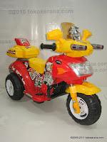 Pliko PK9078 MotoRobot Battery Toy Motorcycle