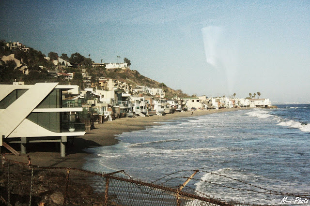 M-ii Photo : Highway #1 Californie - Malibu beach