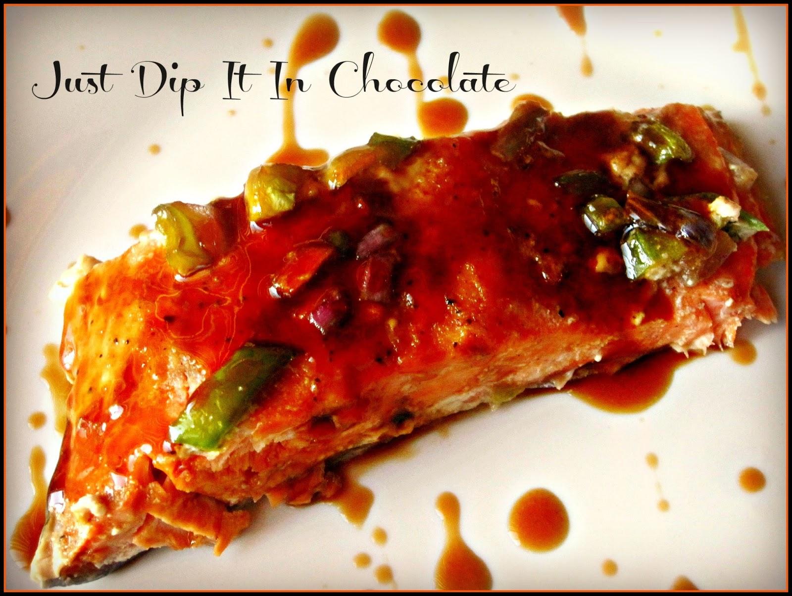 Just Dip It In Chocolate Salmon Al Cartoccio Recipe