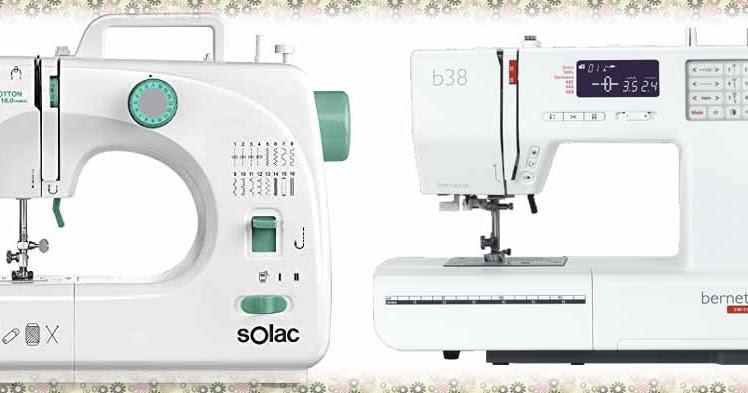 Que diferencia hay entre una máquina de coser mecánica o