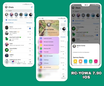 RC YOWhatsApp v7.90 IOS Edition Latest Version