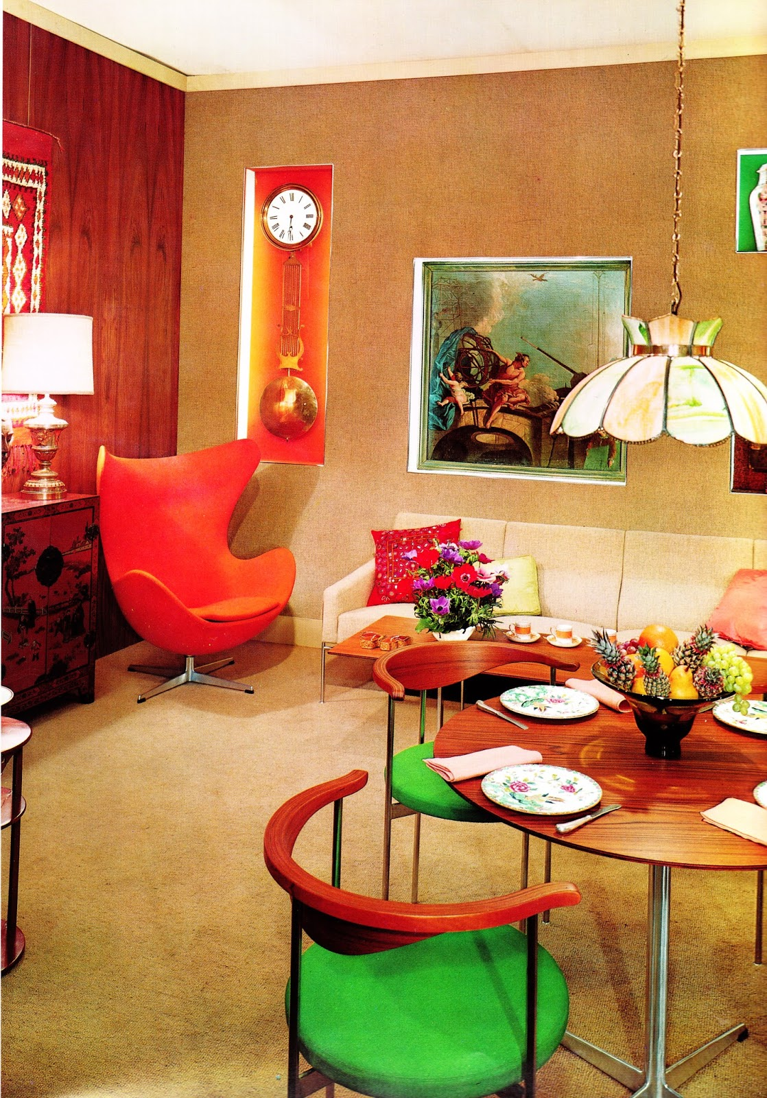 1960s interior d cor the decade of psychedelia gave rise for Interior design usa