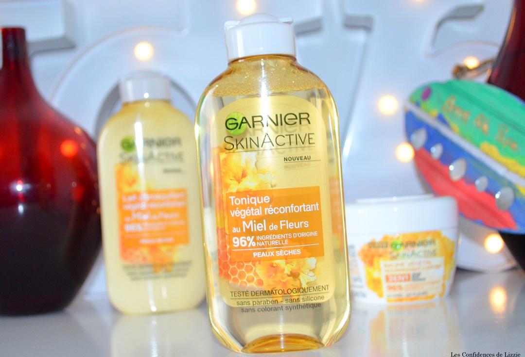ingredients naturels - miel - cosmetiques - garnier - nouvelle gamme