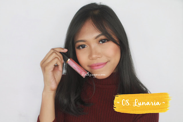purbasari lip cream warna terbaru swatch blackxugar