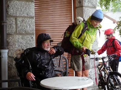 ツール・ド・モンブラン マルチーズ フォルクラ峠 Col de la Forclaz
