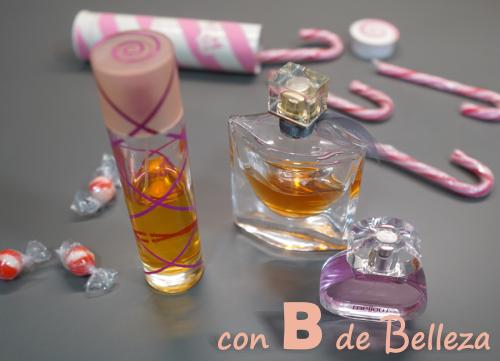 Perfumes y colonias dulces